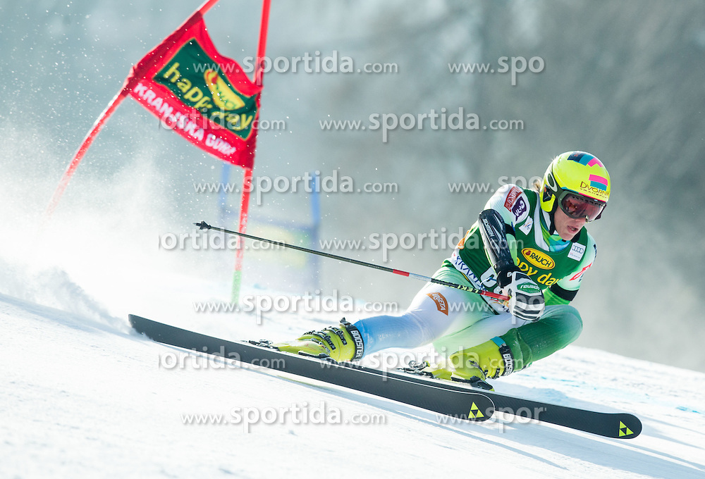 DVORNIK Aljaz of Slovenia competes during Men Giant Slalom race of FIS Alpine Ski World Cup 54th Vitranc Cup 2015, on March 14, 2015 in Kranjska Gora, Slovenia. Photo by Vid Ponikvar / Sportida