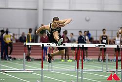 mens 60m hurdles, Nathaniel Kent            FR Bowdoin