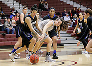 December 3, 2016: Our Lady of the Lake University Saints play against the Oklahoma Christian University Lady Eagles in the Eagles Nest on the campus of Oklahoma Christian University.