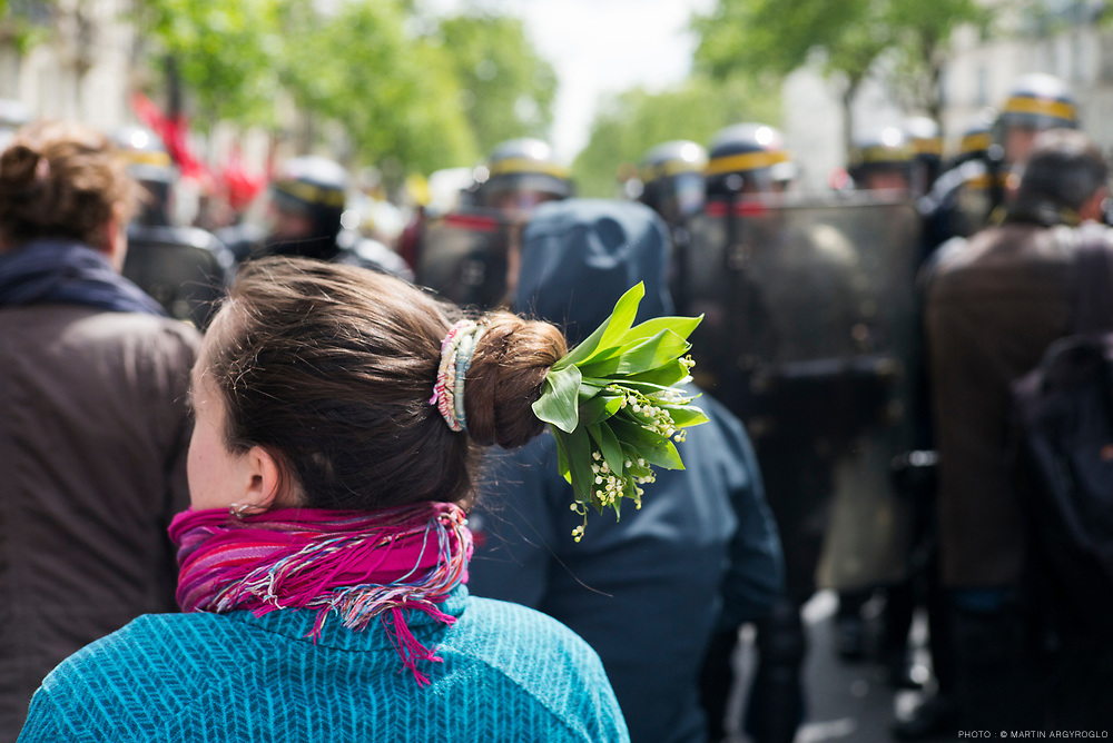 Manifestation du 1er mai à Paris.