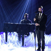 Calum Scott preforms at 2020 WE Day UK at Wembley Arena, London, Uk 4 March 2020.