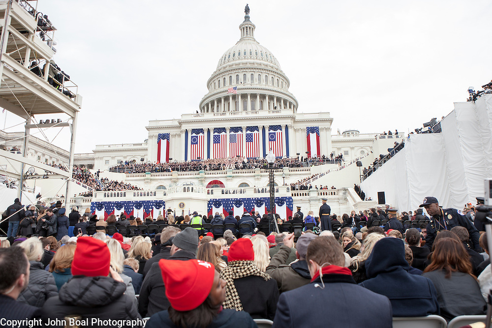 during the Inauguration of Donald Trump as the 45th President of the United States, January 20, 2017.  John Boal Photography