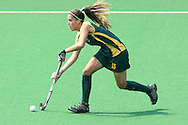 Lisa Deetlefs during the women's hockey match of the The Commonwealth Games between South Africa and Trinidad and Tobago held at the Stadium in New Delhi, India on the  October 2010..Photo by:  Ron Gaunt/SPORTZPICS/PHOTOSPORT