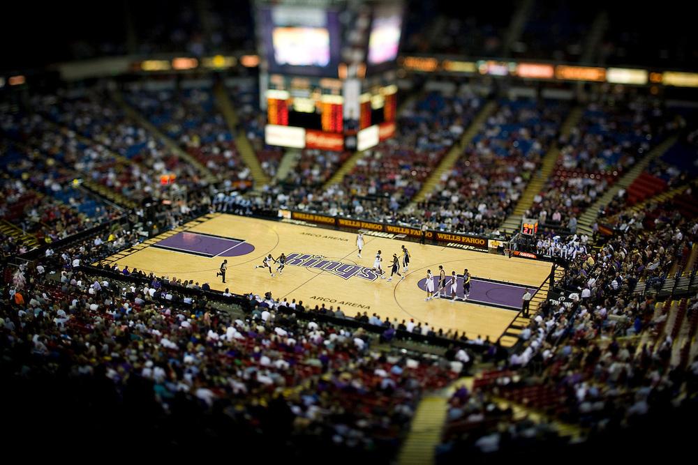 The Sacramento Kings home opener against the Memphis Grizzlies, November 2, 2009.