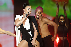 June 24, 2018 - Lisbon, Portugal - US singer Demi Lovato performs at the Rock in Rio Lisboa 2018 music festival in Lisbon, Portugal, on June 24, 2018. (Credit Image: © Pedro Fiuza/NurPhoto via ZUMA Press)