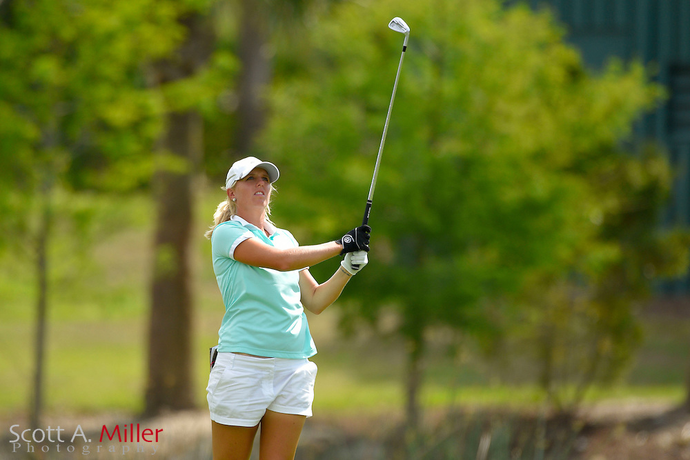Emma de Groot during the final round of the Chico's Patty Berg Memorial on April 19, 2015 in Fort Myers, Florida. The tournament feature golfers from both the Symetra and Legends Tours.<br /> <br /> &copy;2015 Scott A. Miller