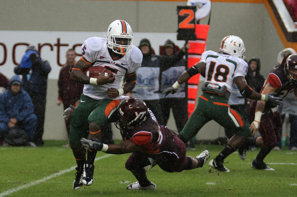2009 Miami Hurricanes Football @ Virginia Tech