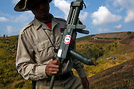 Lao remains the most heavily bombed nation in the history of warfare. During the Vietnam War, the US army dropped thousand of bombs in Lao. The country fields were used for monition tests and to discharge the aircrafts on their way back and being dropped with a low distance from the aircraft, the bombs remained unexploded.