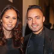 NLD/Amsterdam/20151110 - Life After Football Award 2015, Demy de Zeeuw en partner Danielle Slof