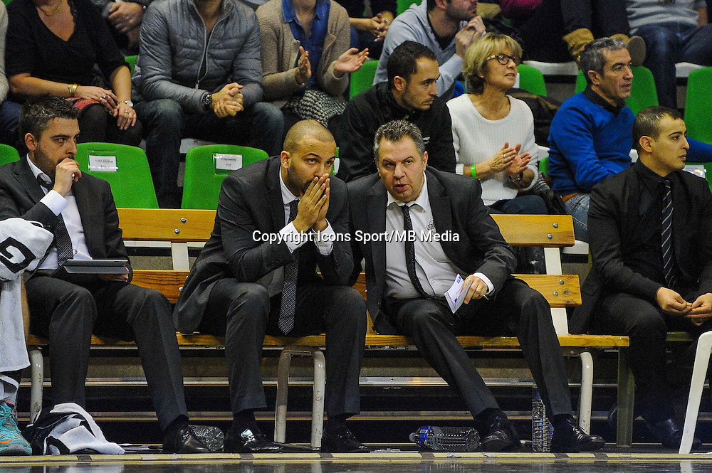TJ PARKER / Nordine GHRIB  - 29.12.2014 - Lyon Villeurbanne / Le Havre - 16e journee Pro A<br />