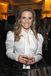 TV Presenter GEORGIE THOMPSON at the Veuve Clicquot Business Woman Award held at The Berkeley Hotel, London on 8th April 2008.<br />