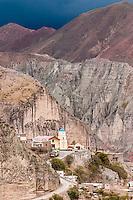 IRUYA, (IGLESIA NUESTRA SEÑORA DEL ROSARIO Y SAN ROQUE), PROV. DE SALTA, ARGENTINA