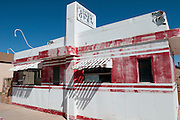 An abandoned diner along Route 66 in Winslow, Arizona. Missoula Photographer