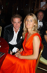 LADY KINVARA BALFOUR and RICCARDA LANZA at the party Belle Epoque hosted by The Royal Parks Foundation and Champagne Perrier Jouet held at the Lido Lawns of the Serpentine, Hyde Park, London on 14th September 2006.<br /><br />NON EXCLUSIVE - WORLD RIGHTS