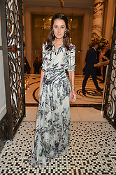 ROSANNA FALCONER at the IWC Schaffhausen hosted Private Screening of The Lobster In Celebration Of The BFI - before the screening a drinks reception was held at The Langham Hotel, London on 15th October 2015.