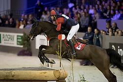 De Cleene Wouter, BEL, Alaric de Lauzelle<br /> Indoor Brabant - Den Bosch 2017<br /> © Hippo Foto - Dirk Caremans<br /> 09/03/2017