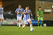 Cheltehham Town's Billy Walters runs forward during the Gloucestershire Senior Cup match between Forest Green Rovers and Cheltenham Town at the New Lawn, Forest Green, United Kingdom on 20 September 2016. Photo by Shane Healey.