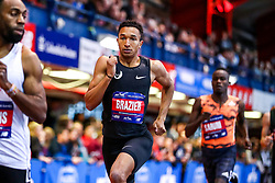 NYRR Millrose Games Indoor Track and Field , sets American record for indoor 800 meters 1:44.41, , Nike,