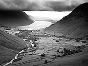 Coast to Coast IX. Wast Water in the Lake District.