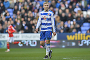 Reading FC striker Matej Vydra during the The FA Cup fourth round match between Reading and Walsall at the Madejski Stadium, Reading, England on 30 January 2016. Photo by Mark Davies.