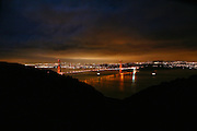 San Francisco, as seen from the Marin Headlands on Dec 31, 2006<br />
