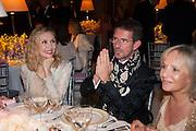 Allegra Hicks; Manfredi della Gherardesca, CARTIER CHELSEA FLOWER SHOW DINNER Dinner hosted by Cartier in celebration of the Chelsea Flower Show was held at Battersea Power Station. 22 May 2012