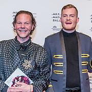 NLD/Amsterdam/20170320 - Onegin – Het Nationale Ballet premiere, Bastiaan van Schaik en partner Ramon Heinhuis