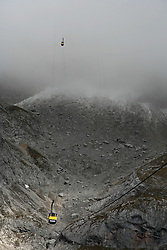 Mountain Dachstein, Austria, on October 30, 2008.  (Photo by Vid Ponikvar / Sportida)