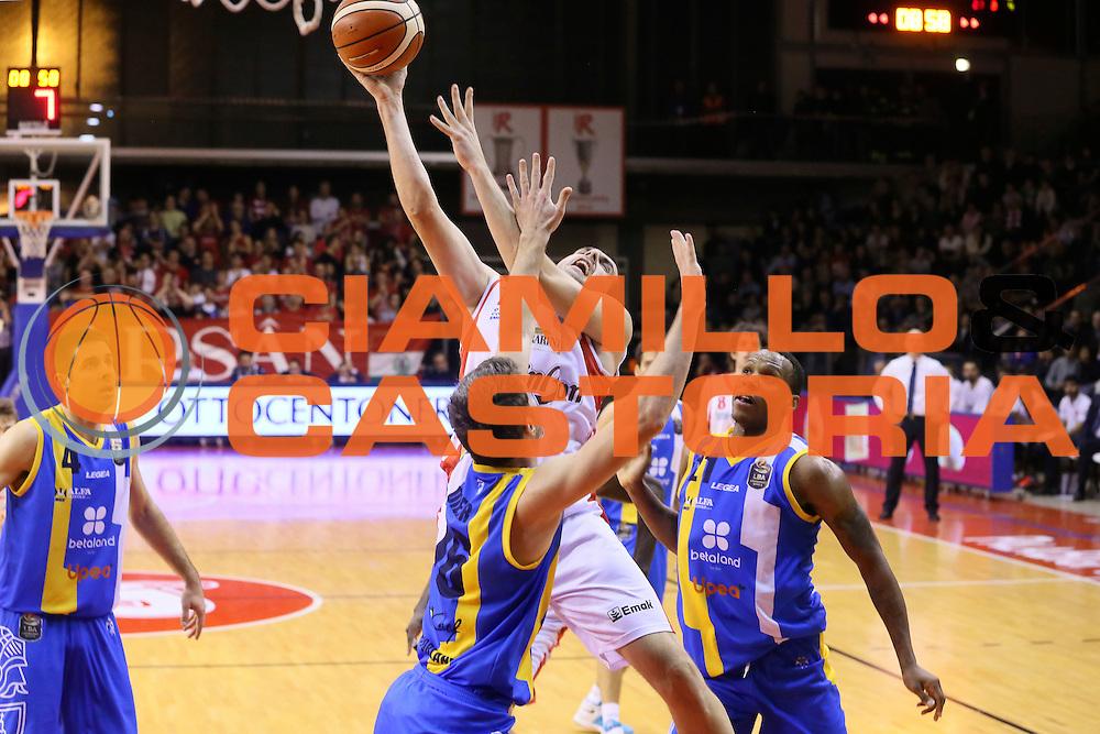 Sava Lesic<br /> Grissin Bon Pallacanestro Reggio Emilia - Betaland Capo d' Orlando - <br /> Lega Basket Serie A 2016/2017<br /> Reggio Emilia, 05/12/2016<br /> Foto Ciamillo-Castoria