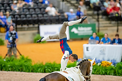 Brüsewitz Thomas, GER, Danny Boy Old, Lunger Looser Patrick<br /> World Equestrian Games - Tryon 2018<br /> © Hippo Foto - Stefan Lafrenz<br /> 19/09/18