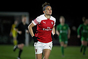 Arsenal forward Katrine Veje (2) during the FA Women's Super League match between Arsenal Women and Yeovil Town Women at Meadow Park, Borehamwood, United Kingdom on 20 February 2019.