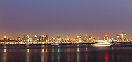 Luanda at night, Angola