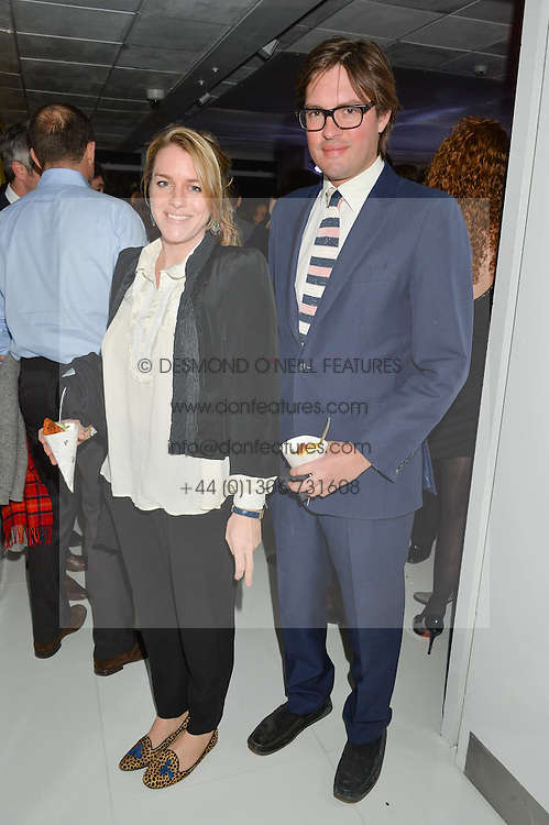 HARRY & LAURA LOPES at the London premier of Being AP held at Altitude 360, Millbank Tower, 30 Millbank, London on 23rd November 2015.