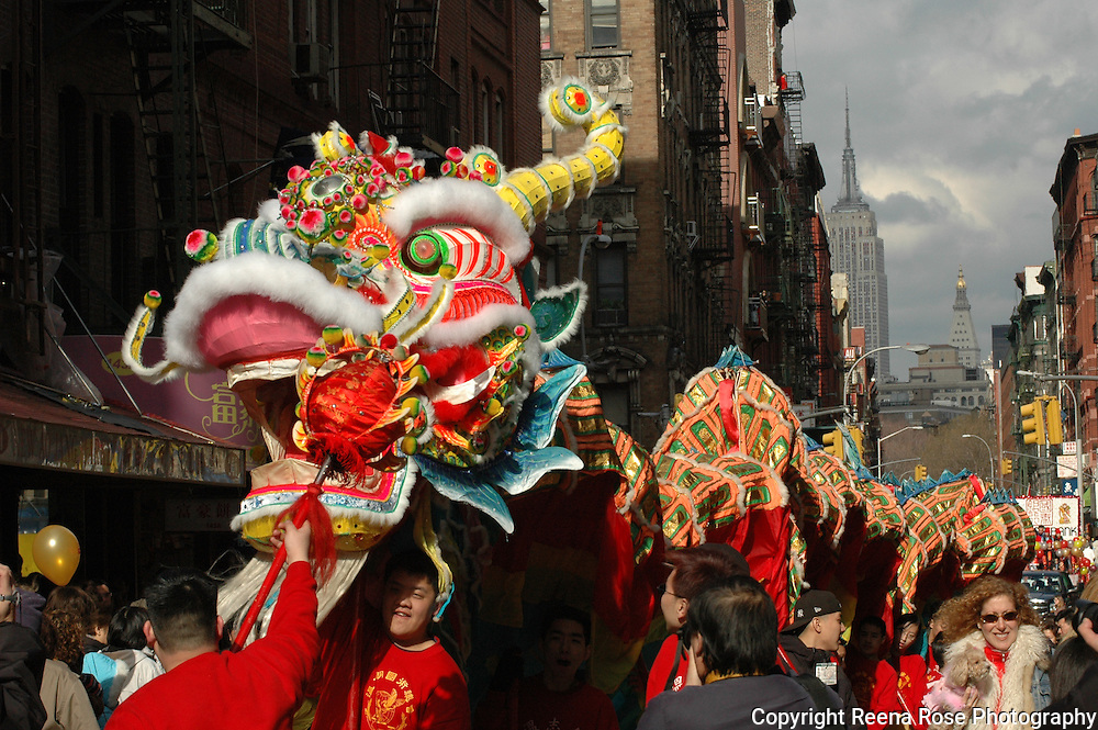 Chinese New Year Parade<br /> New York City, NY
