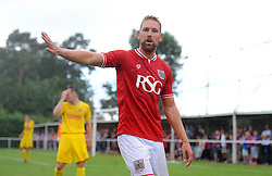 Scott Wagstaff of Bristol City - Photo mandatory by-line: Dougie Allward/JMP - Mobile: 07966 386802 - 05/07/2015 - SPORT - Football - Bristol - Brislington Stadium - Pre-Season Friendly