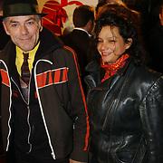 Premiere Love Actually, Hans Dagelet en vriendin Esther Apituley