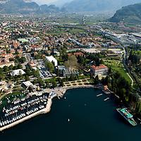 Riva del Garda - centro storico aeree