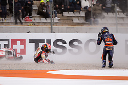 November 17, 2019, Valence, Espagne: JOHANN ZARCO - FRENCH - LCR HONDA IDEMITSU - HONDA.IKER LECUONA - SPANISH - RED BULL KTM TECH 3 - KTM (Credit Image: © Panoramic via ZUMA Press)