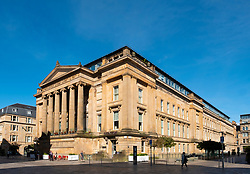 View of historic building in Merchant City of Glasgow, Scotland, UK