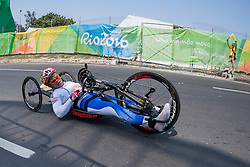 LEE Doyeon, KOR, H4, Cycling, Time-Trial at Rio 2016 Paralympic Games, Brazil
