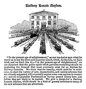 Railway Lunatic Asylum.