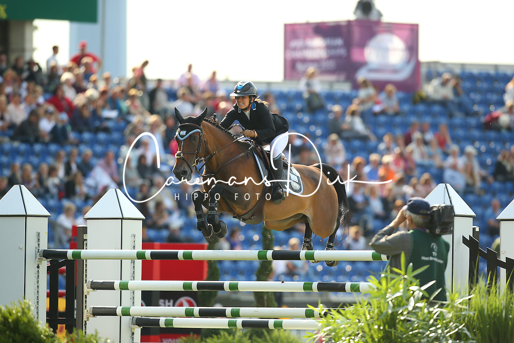 Goldstein Danielle, (ISR), Carisma<br /> Team Competition round 1 and Individual Competition round 1<br /> FEI European Championships - Aachen 2015<br /> &copy; Hippo Foto - Stefan Lafrentz<br /> 19/08/15