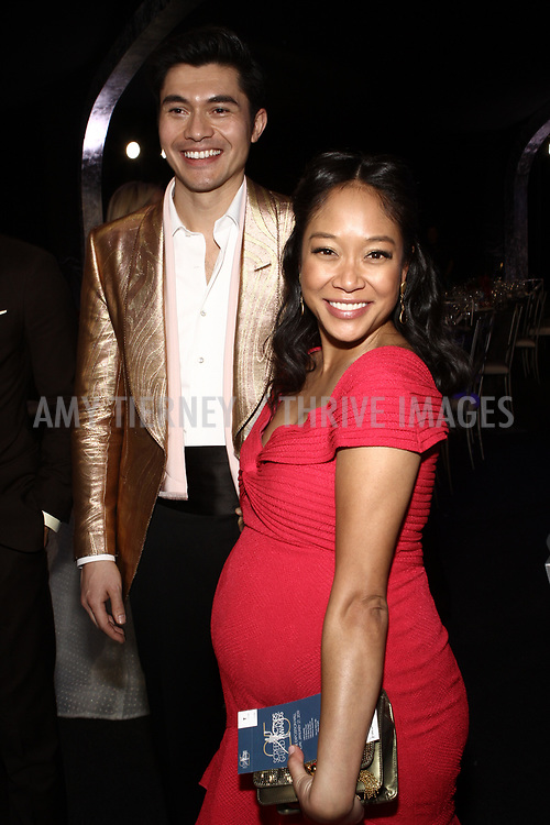 Henry Golding, and Shelby Rabara