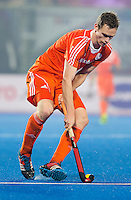 BHUBANESWAR  (INDIA)  - Dutch Mirco Pruijser during the match between The Netherlands and Germany.  Champions Trophy Hockey.  FOTO KOEN SUYK