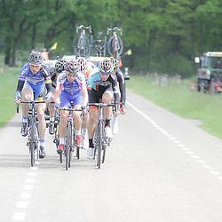 WIELRENNEN Rijssen, de 62e ronde van Overijssel werd op zaterdag 3 mei verreden. Vlucht met Enternaar Maurits Lammertink kreeg maximaal 2 minuten