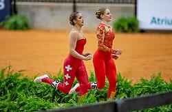 Hannich Ilona, SUI, For Ever du Chalet CH, Lunger Aebi Simone<br /> World Equestrian Games - Tryon 2018<br /> © Hippo Foto - Stefan Lafrenz<br /> 18/09/18