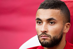 Zakaria Labyad of Ajax during the UEFA Champions League group E match between Ajax Amsterdam and AEK FC at the Johan Cruijff Arena on September 19, 2018 in Amsterdam, The Netherlands