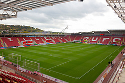 General view of Rotherham United's Aesseal New York Stadium - Mandatory by-line: Ryan Crockett/JMP - 14/10/2017 - FOOTBALL - Aesseal New York Stadium - Rotherham, England - Rotherham United v Scunthorpe United - Sky Bet League One