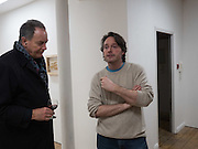 PAUL DA SILVA; PIERS SECUNDA, Piers Secunda, and Carlos Puente launch event previewing their exhibitions, Shadows of Spain and Circling Skies. Olympus Art Bermondsey Project Space, Bermondsey St. London. 1 March 2016