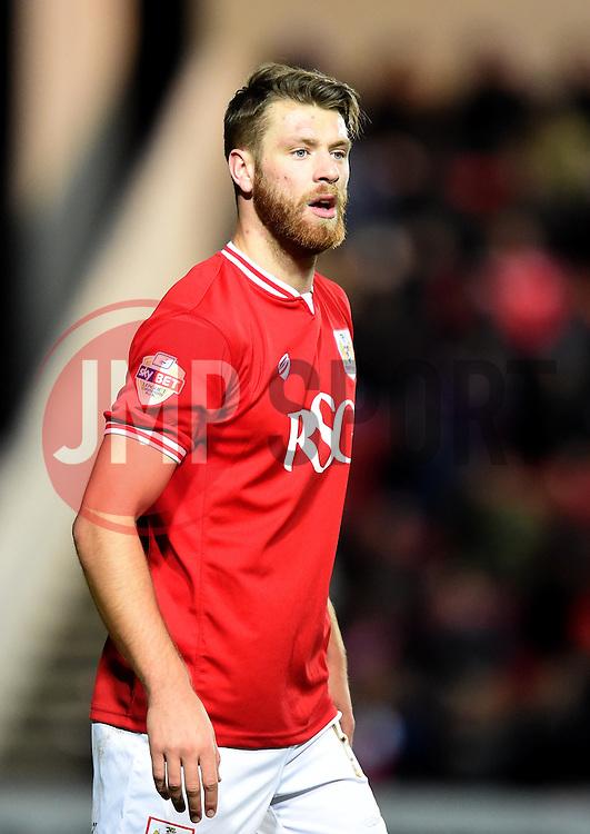 Nathan Baker of Bristol City - Mandatory by-line: Paul Knight/JMP - Mobile: 07966 386802 - 12/01/2016 -  FOOTBALL - Ashton Gate Stadium - Bristol, England -  Bristol City v Preston North End - Sky Bet Championship
